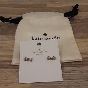Kate Spade Earrings Bow Brand New